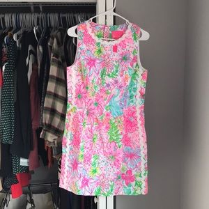 Lilly Pulitzer Patterned Shift Dress, NWT